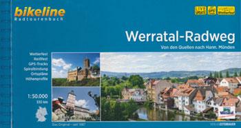 Bikeline-Radtourenbuch Werratal-Radweg von der Quelle nach Hann. Münden