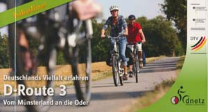 Radwanderführer D-Route 3 vom Münsterland an die Oder