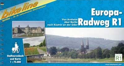 Bikeline-Radtourenbuch Europaradweg R1, von Arnheim über Berlin nach Küstrin an der Oder