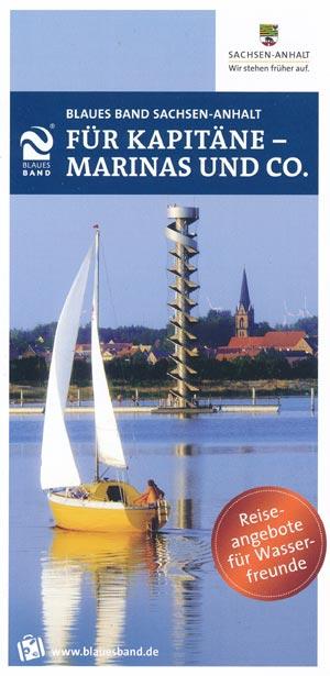 Blaues Band Sachsen-Anhalt:  Für Kapitäne - Marinas und Co.