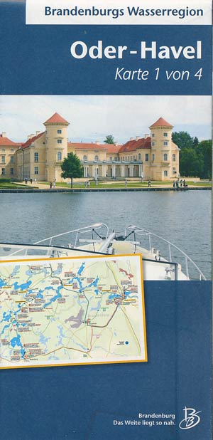 Brandenburgs Wasserregion: Oder-Havel Karte 1