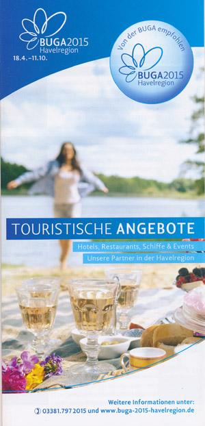 BUGA 2015 Touristische Angebote