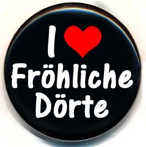 Button I like Fröhliche Dörte