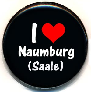 Button I like Naumburg (Saale)