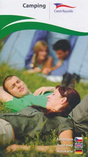 Camping Czech Republic, Tschechien Autokarte M 1:500.000