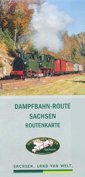 Dampfbahn-Route Sachsen