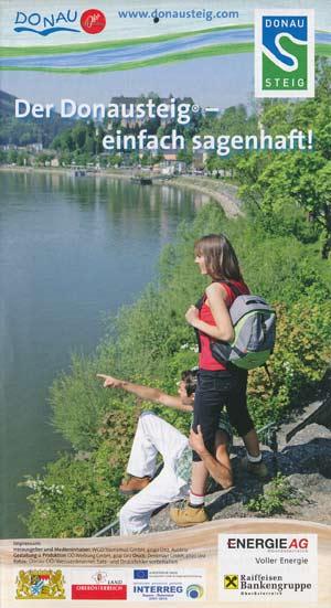 Donausteig - einfach sagenhaft, Wanderkarte Passau-Linz-Grein