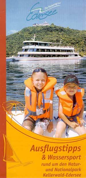 Ferienregion Edersee - Ausflugstipps und Wassersport