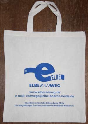 Elberadweg Beutel, Tragetasche