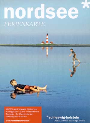 Ferienkarte Nordsee Schleswig-Holstein