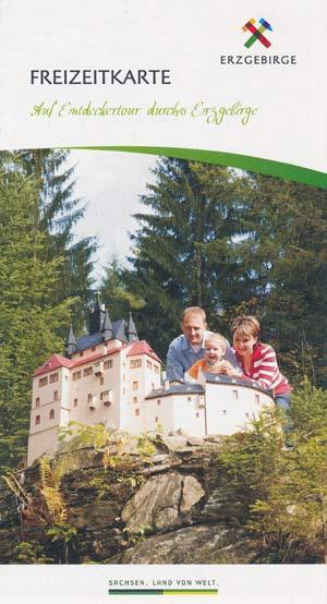 Freizeitkarte Erzgebirge - Auf Entdeckertour
