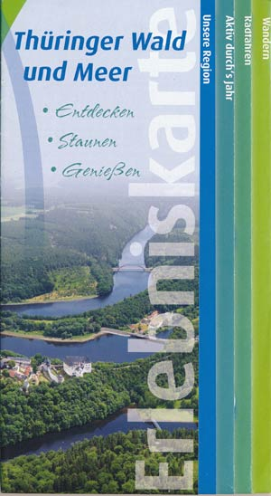 Erlebniskarte Thüringer Wald und Meer