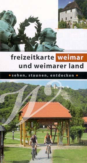 Freizeitkarte Weimar und Weimarer Land