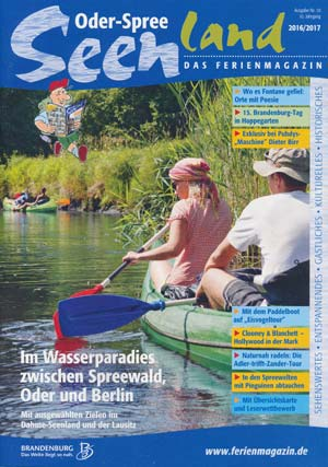 Ferienmagazin Oder-Spree-Seenland 2016/2017