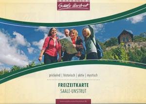 Freizeitkarte Saale-Unstrut