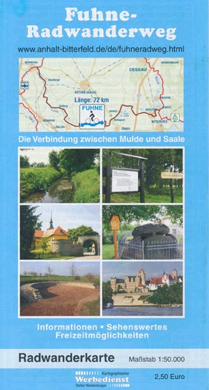 Radwanderführer Fuhne-Radwanderweg