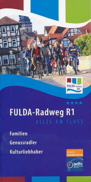 Fulda-Radweg R1 alles am Fluss
