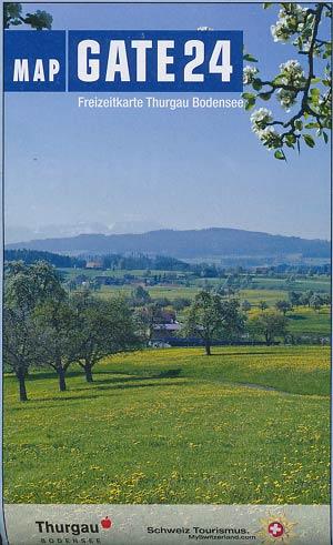 Freizeitkarte Thurgau Bodensee / MAP GATE 24