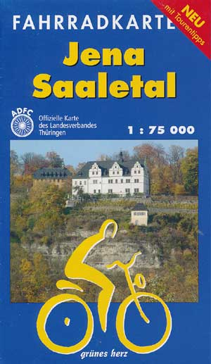 Fahrradkarte Jena - Saaletal 1:75.000, Grünes Herz