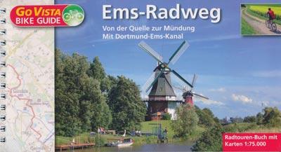 Radtouren-Buch Ems-Radweg, Maßstab 1:75.000 - Go Vista Bike Guide