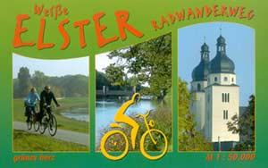 Radtourenbuch Weiße Elster-Radwanderweg, Verlag grünes herz