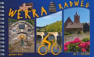 Radtourenbuch Werra-Radweg, Verlag grünes herz