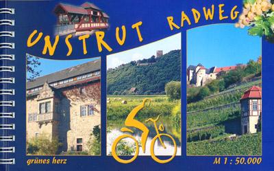 Radtourenbuch Unstrut-Radwanderweg, Verlag grünes herz