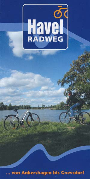Faltblatt Havel-Radweg Ankershagen-Rathenow-Gnevsdorf