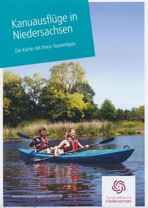Kanuausflüge in Niedersachsen - Karte mit Tourentipps
