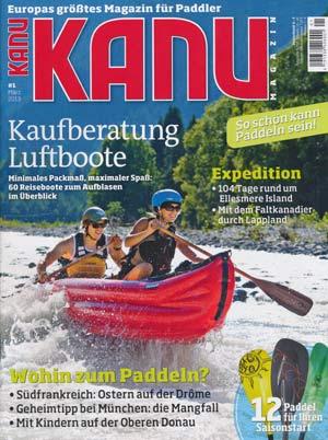 Kanu-Magazin #1 März 2013