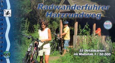 Radwanderführer Harzrundweg (M 1:50.000, KKV)