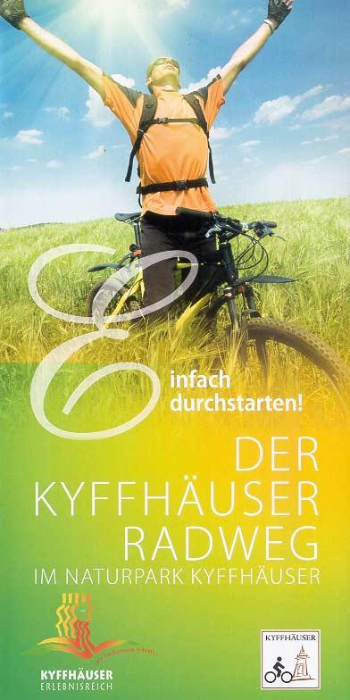 Kyffhäuser-Radweg im Naturpark Kyffhäuser