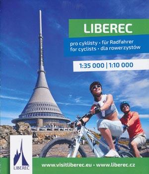 Liberec pro cyklisty - für Radfahrer Karte M 1:35.000