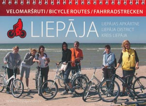 Fahrradstrecken Kreis Liepaja (Lettland)