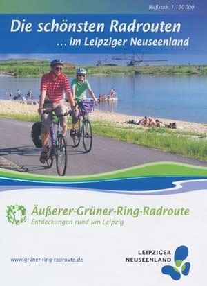 Leipziger Neuseenland-Radrouten: Äußerer-Grüner-Ring-Radroute
