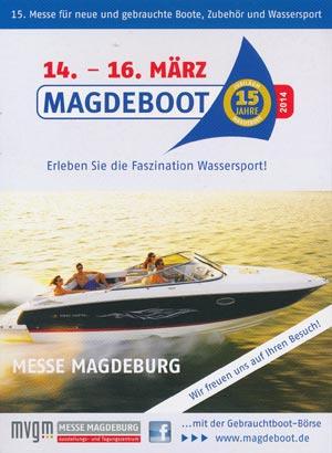 Die Messe Magdeboot 2018 - Boote, Outdoor, Wassersport