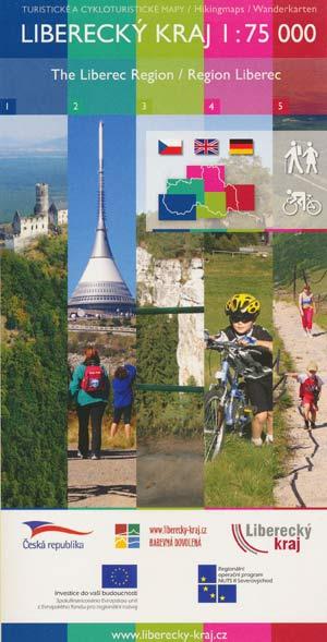 Wanderkarten / Hikingmaps Liberecky Kraj Maßstab 1:75.000