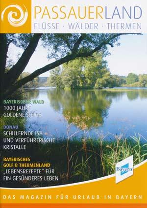 Urlaubsmagazin PassauerLand - Flüsse, Wälder, Thermen