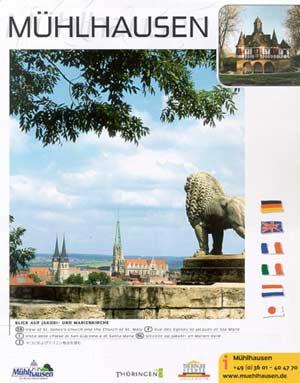 Mühlhausen / Thüringen - Broschüre