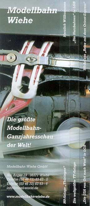 Modellbahn Wiehe - Flyer