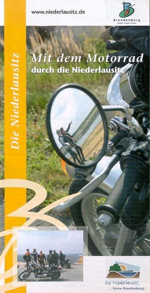 Mit dem Motorrad unterwegs durch die Niederlausitz