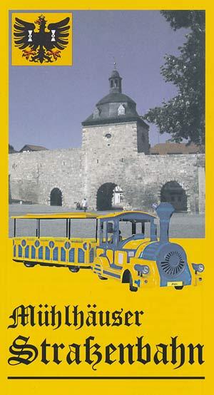 Mühlhäuser Straßenbahn - Faltblatt