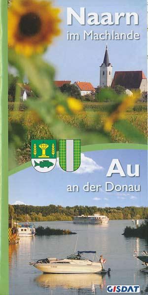 Karte Naarn im Marchlande // Au an der Donau