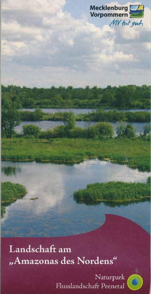 Landschaft am Amazonas des Nordens - Naturpark Flusslandschaft Peenetal