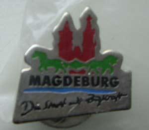 Pin Magdeburg - Die Stadt mit Zugkraft