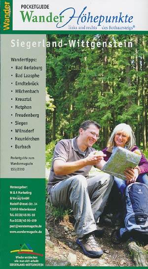 Wandermagazin Pocketguide - Siegerland-Wittgenstein