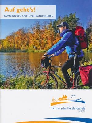 Auf gehts! Kombinierte Rad- und Kanutouren Pommernsche Flusslandschaft