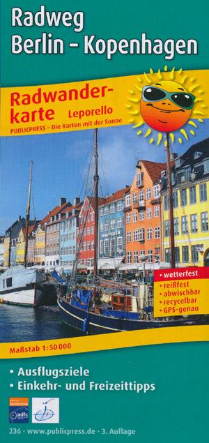 Publicpress Radwanderkarte Berlin-Kopenhagen