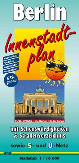 Berlin-Innenstadtplan