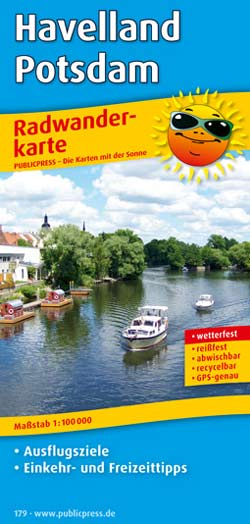 Radwanderkarte Havelland - Potsdam, Publicpress
